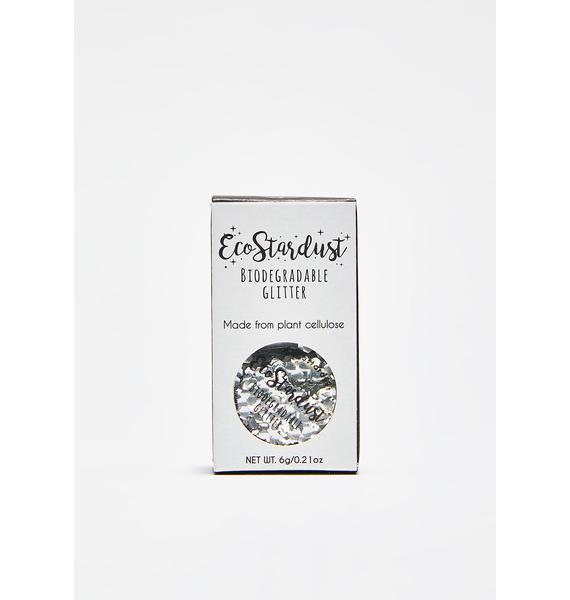 EcoStardust Ultra Chunky Silver Biodegradable Glitter