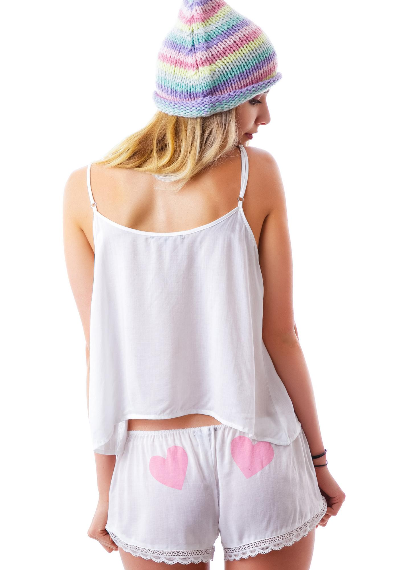 Wildfox Couture Love is Everything Summer Sleep Set