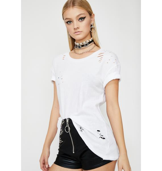 Take A Hint Distressed T-Shirt