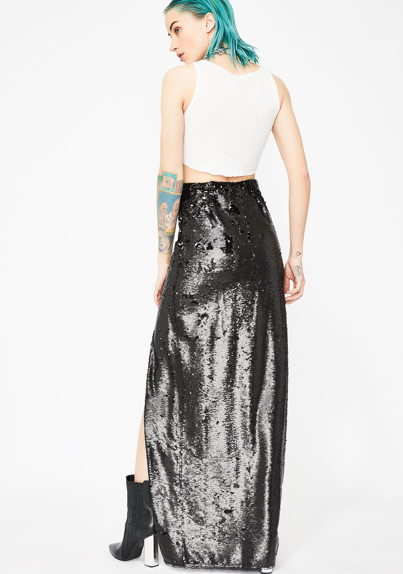 Kiki Riki Midnight Forever Shinin' Sequin Skirt