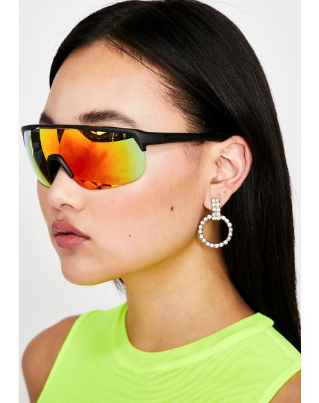 Juicy Be Gone Shield Sunglasses