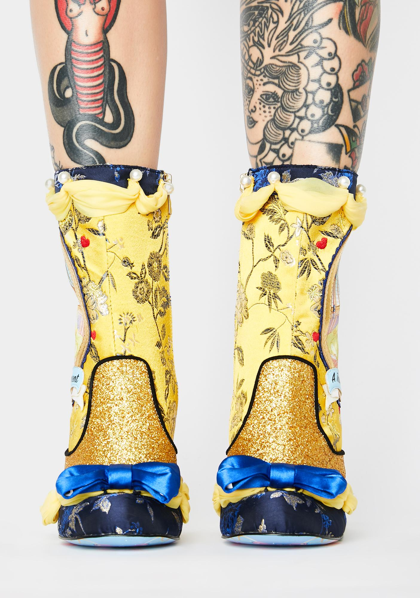 Irregular Choice A Tale Of Enchantment Ankle Booties