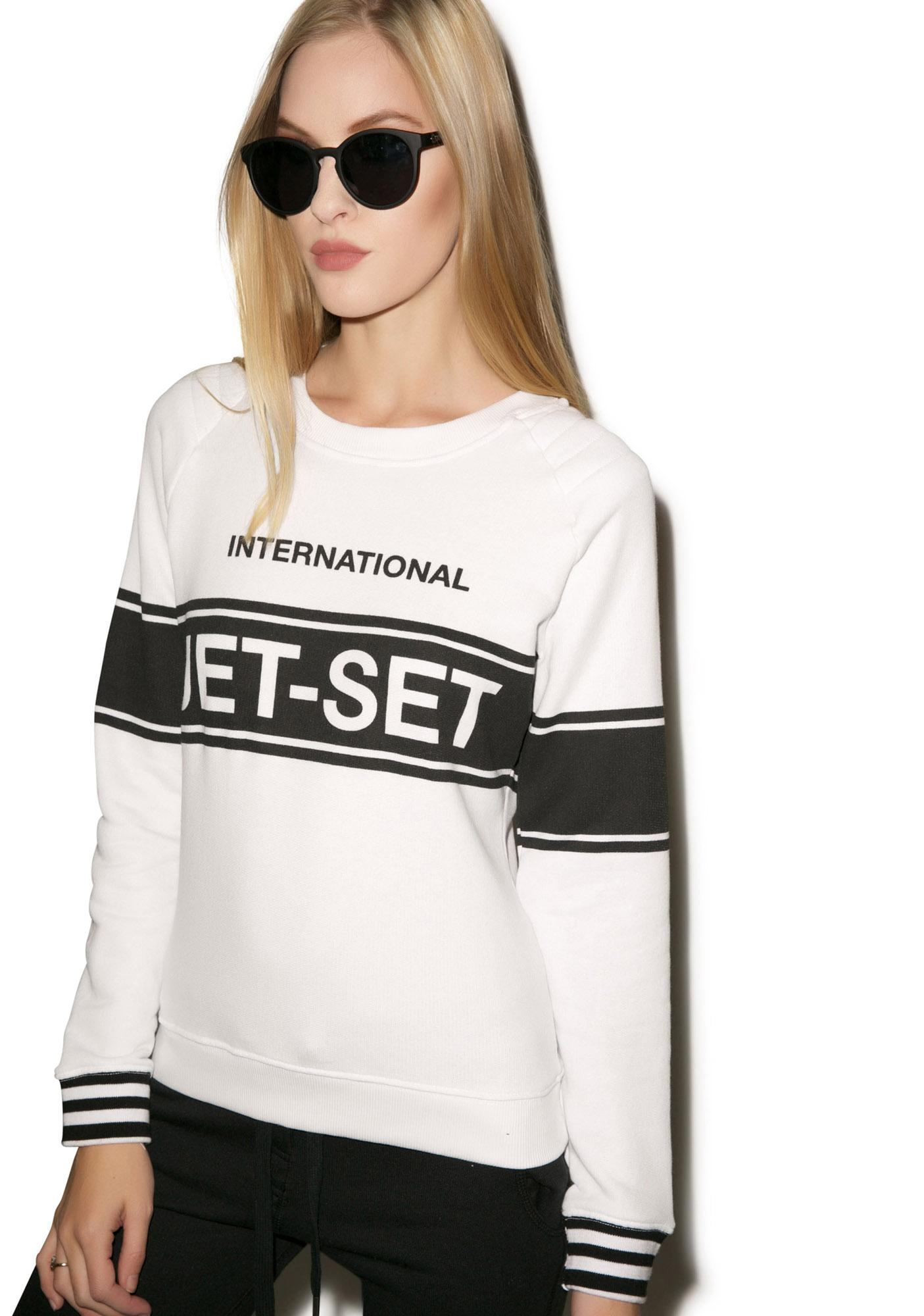 Zoe Karssen International Jetset Raglan Sweater