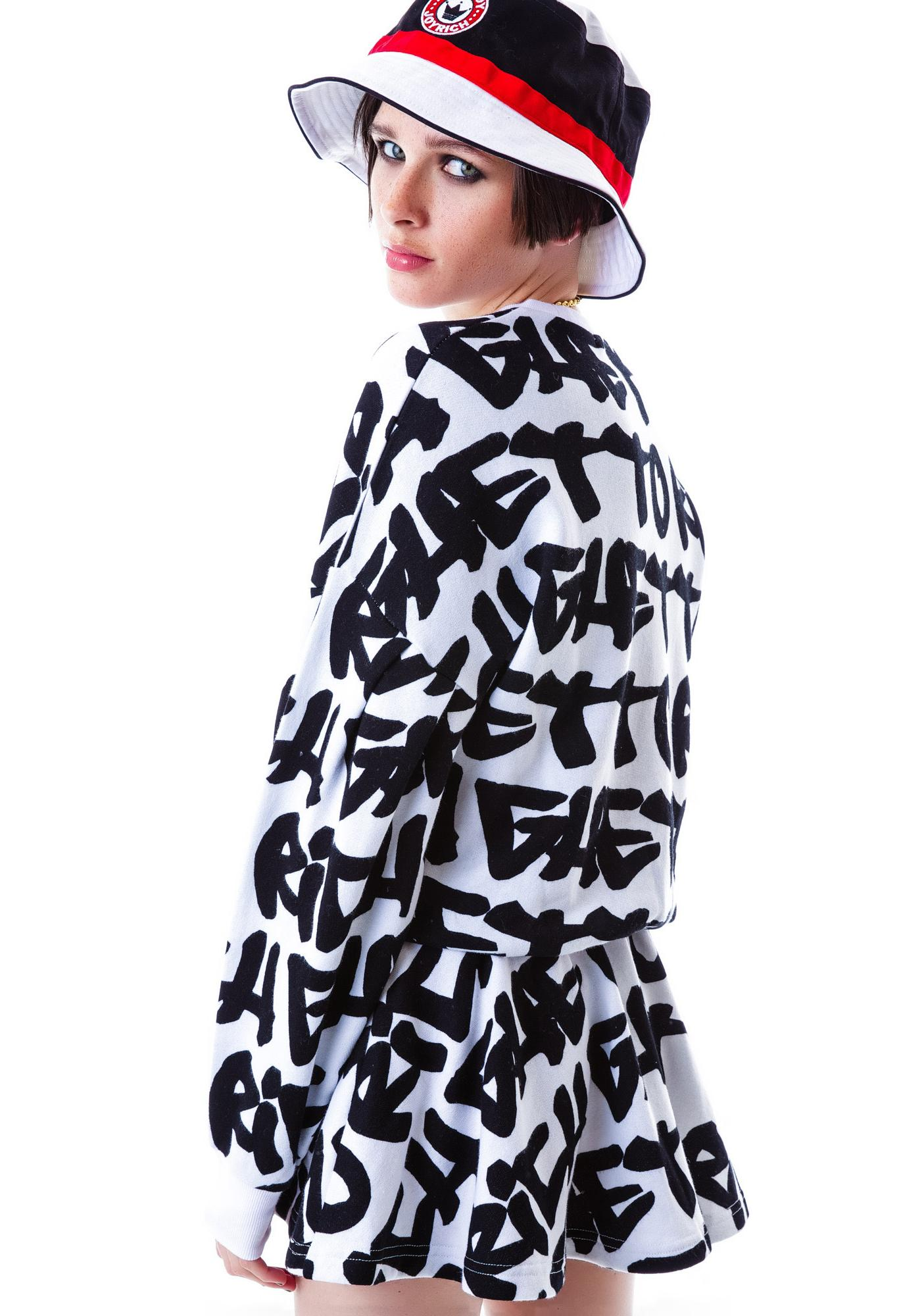 Joyrich Ghetto Graffiti Tunic