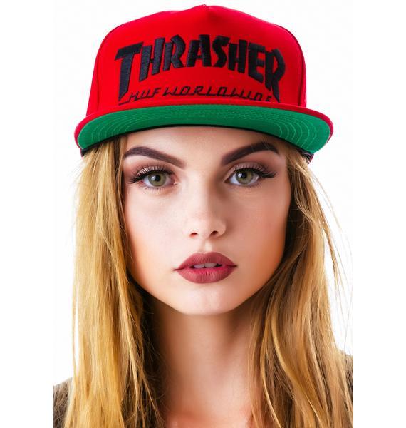 HUF x Thrasher Snapback