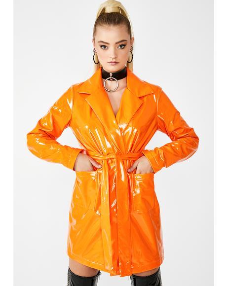 Juicy Viral Vengeance Trench Coat
