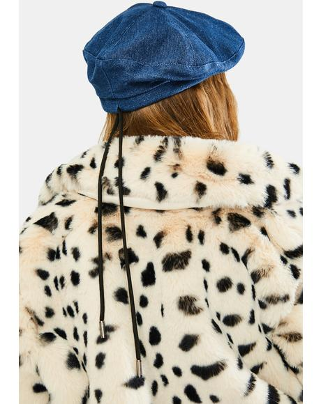 Royal All Star Denim Beret