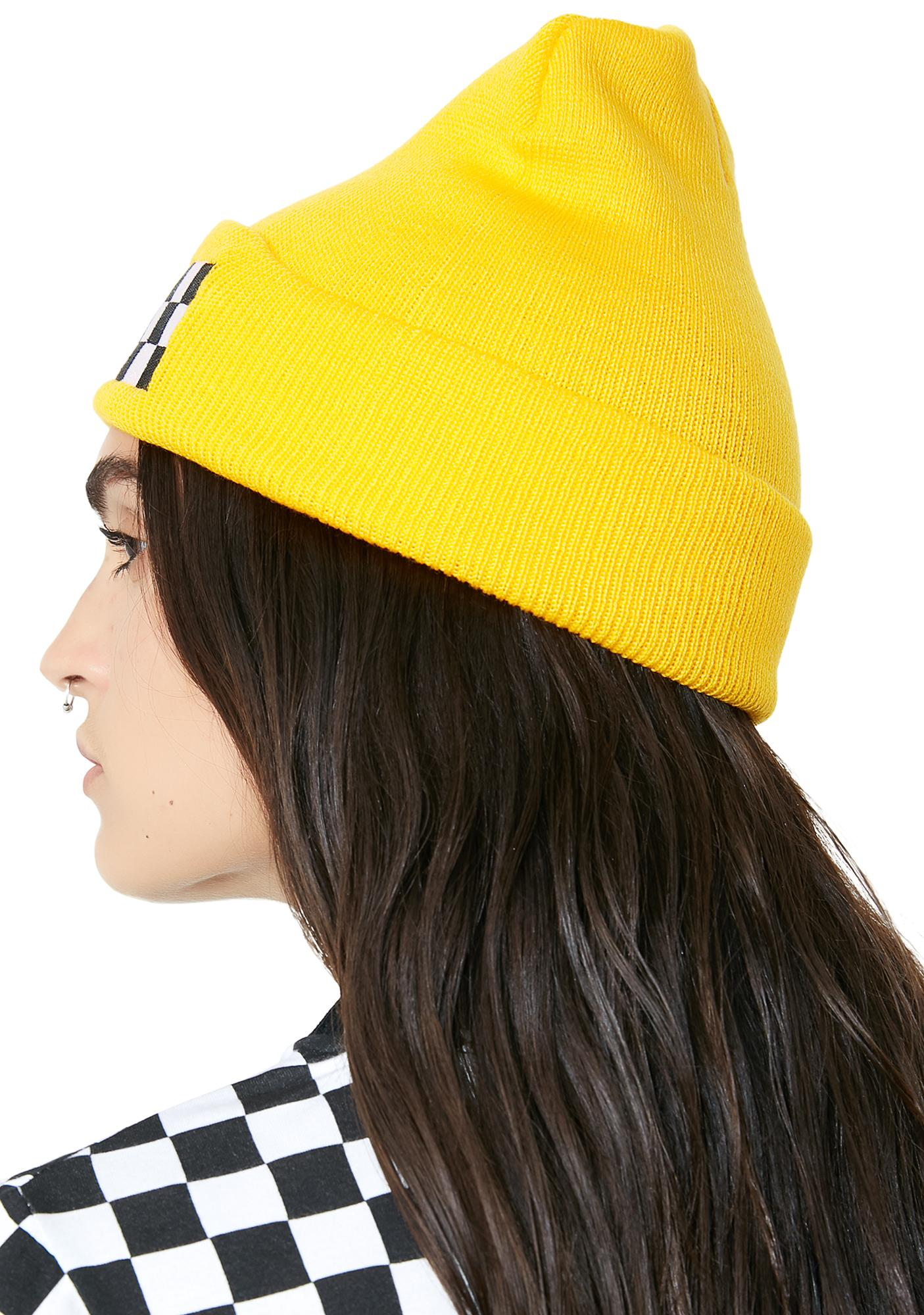 Petals and Peacocks Taxi Beanie
