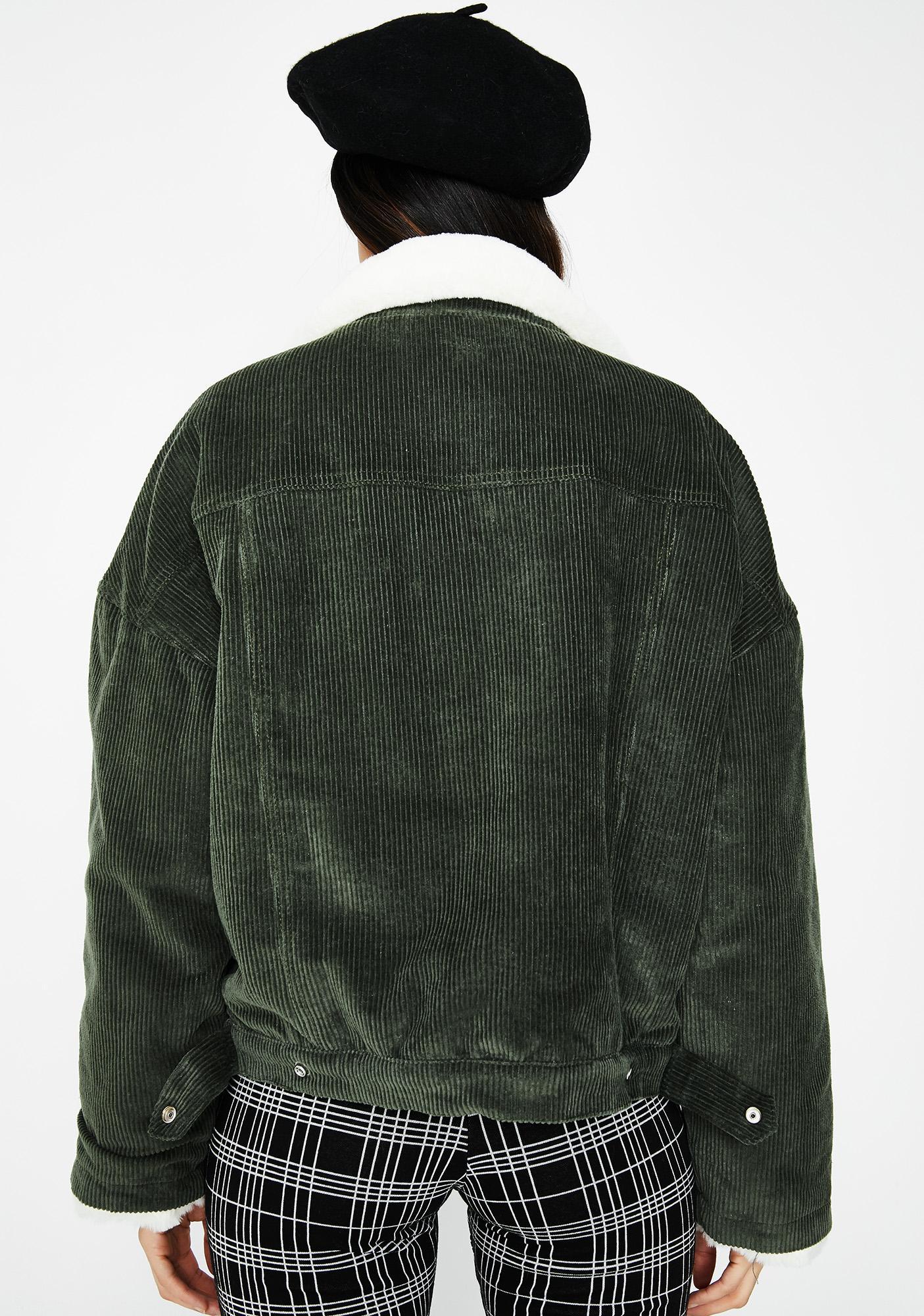 Get Toasted Corduroy Jacket