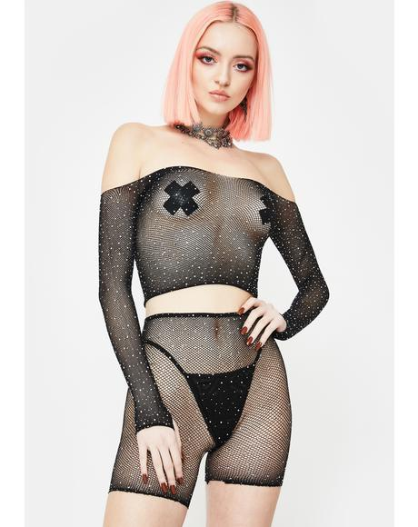 Deluxe Package Fishnet Set