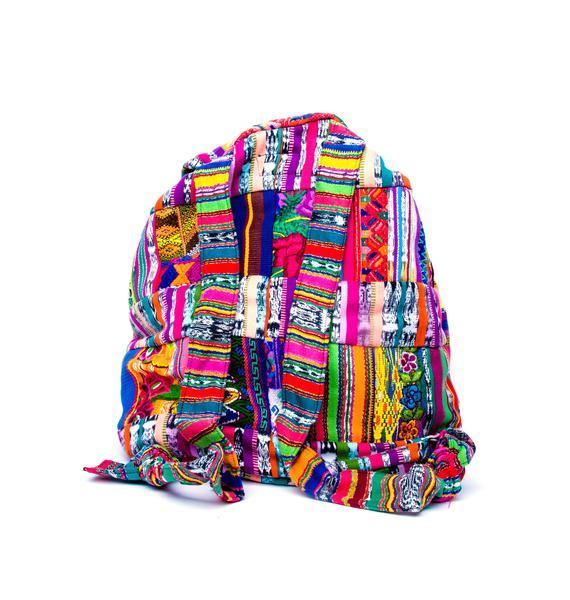 Santiago Patchwork Backpack