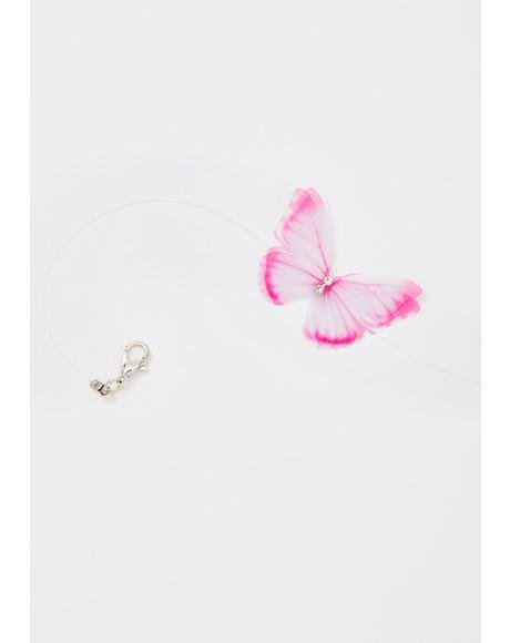 Baby Superfly Sis Butterfly Choker