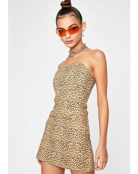Watch Ya Back Mini Dress