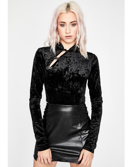 Vixen Vision Velvet Bodysuit