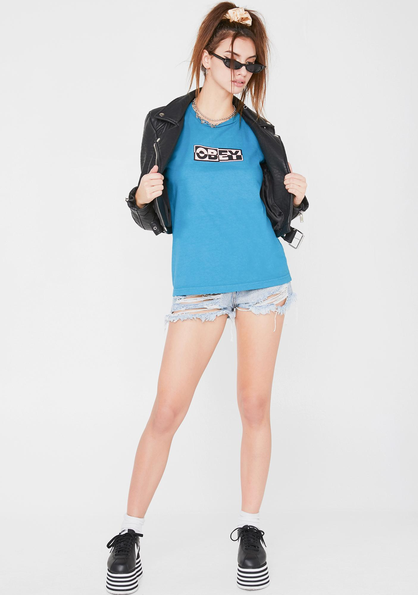 Obey Inside Out 4 T- Shirt