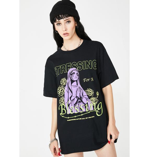 Samborghini Stressing For A Blessing Tee