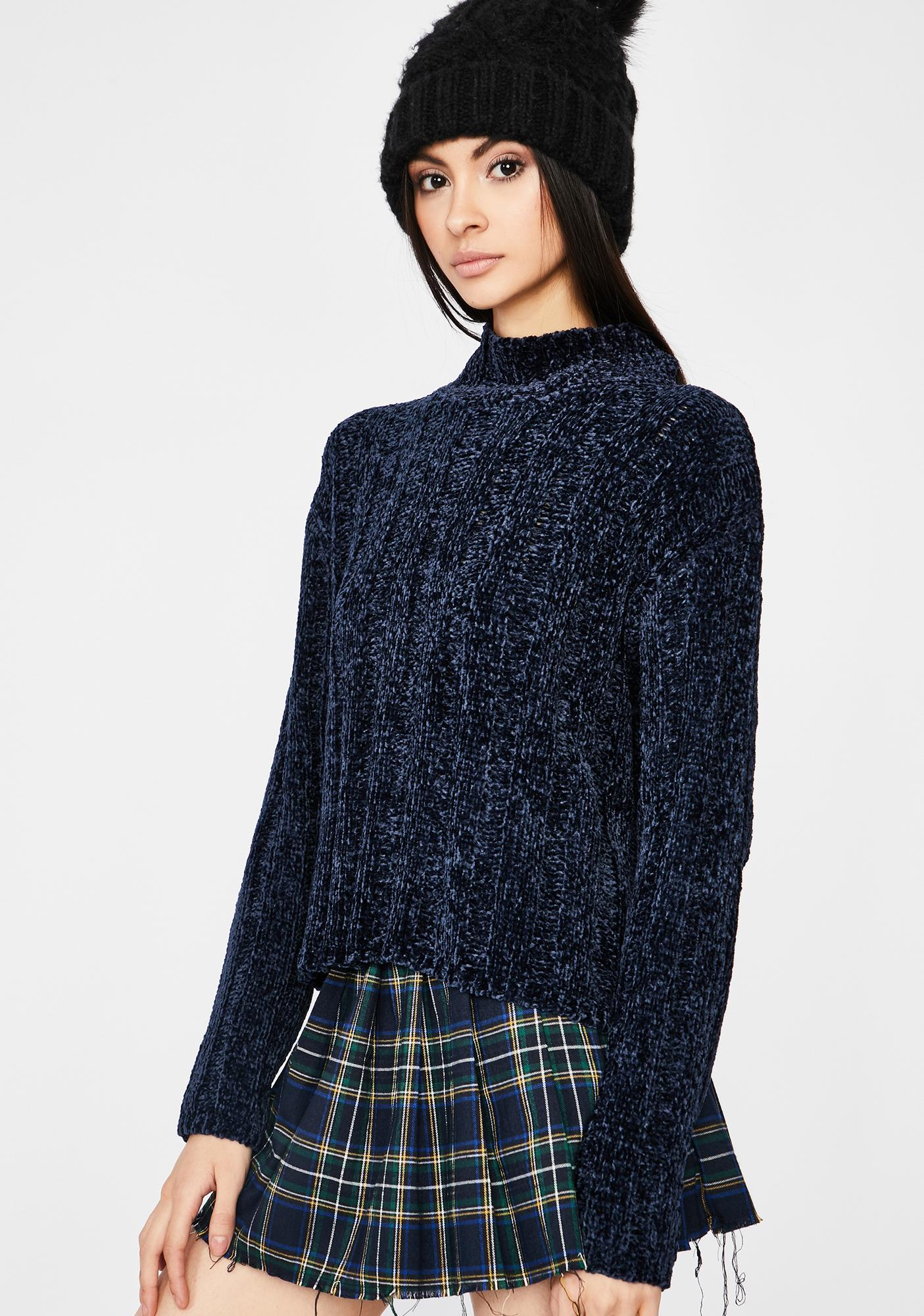 Dark Guilty Promise Knit Sweater