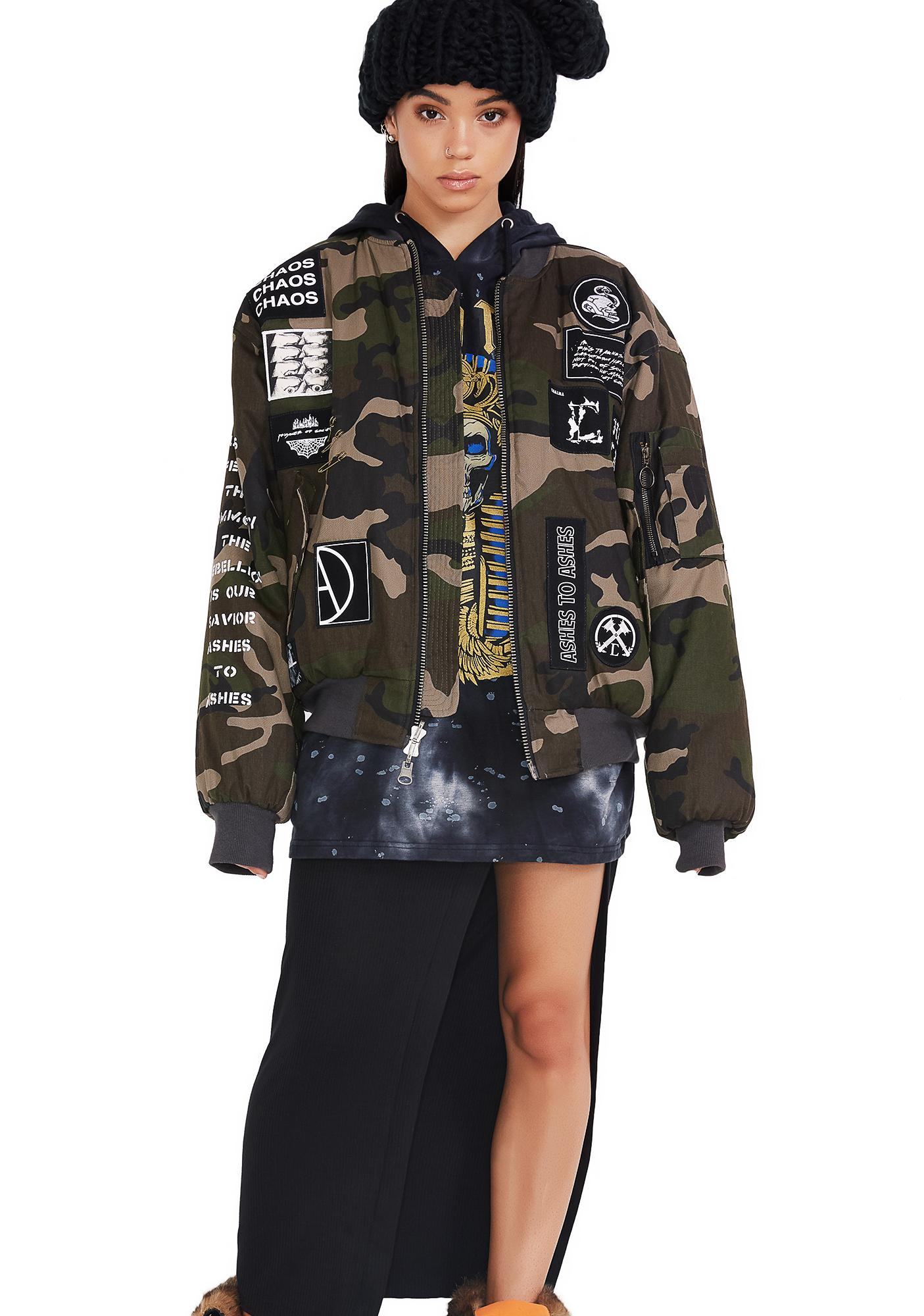Civil Clothing Division Bomber