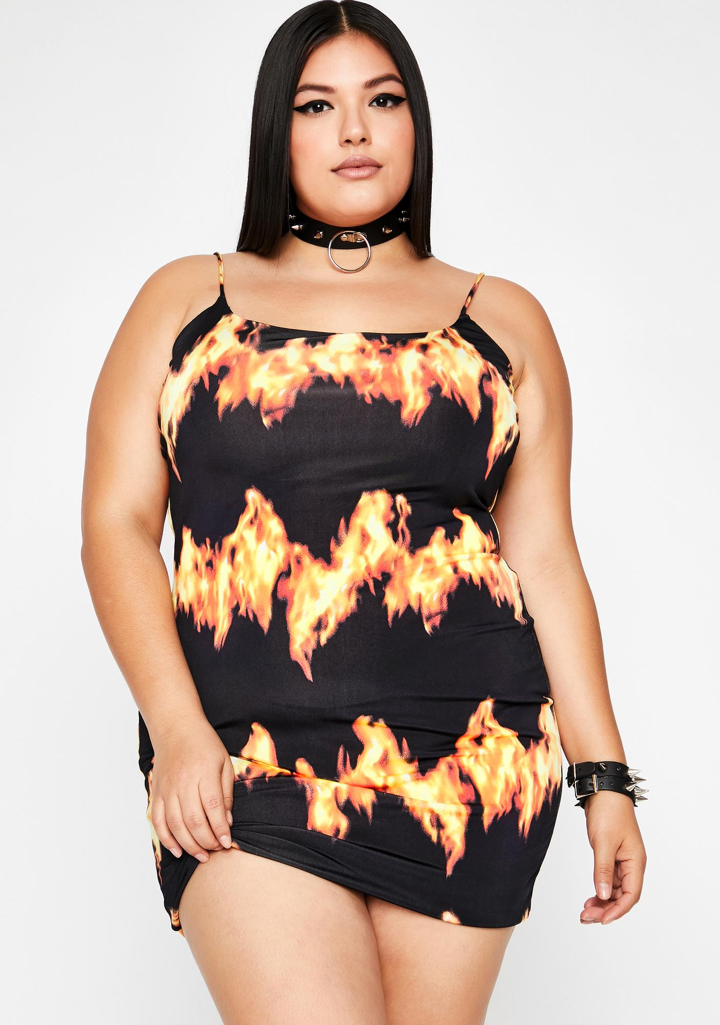 So Hot Like Me Cami Dress