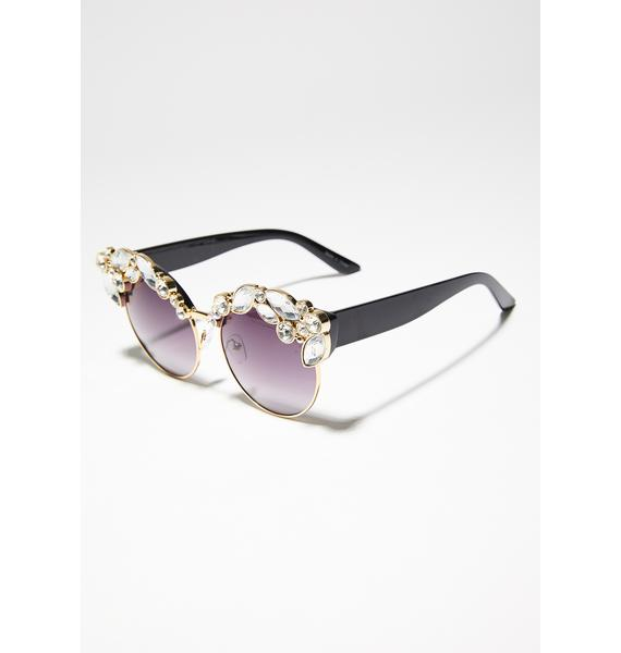 Purely Yours Crystal Sunglasses