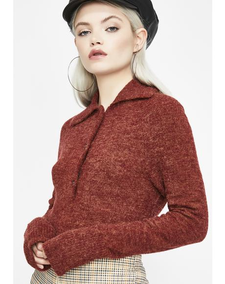 Passion So Hip Polo Sweater