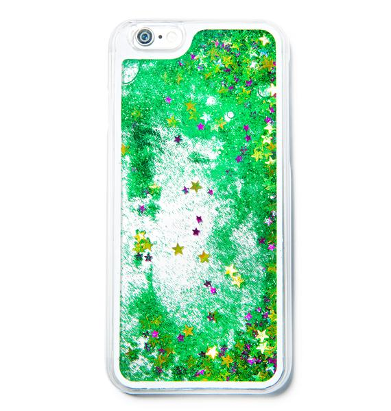 Shooting Star Glitterfalls iPhone Case