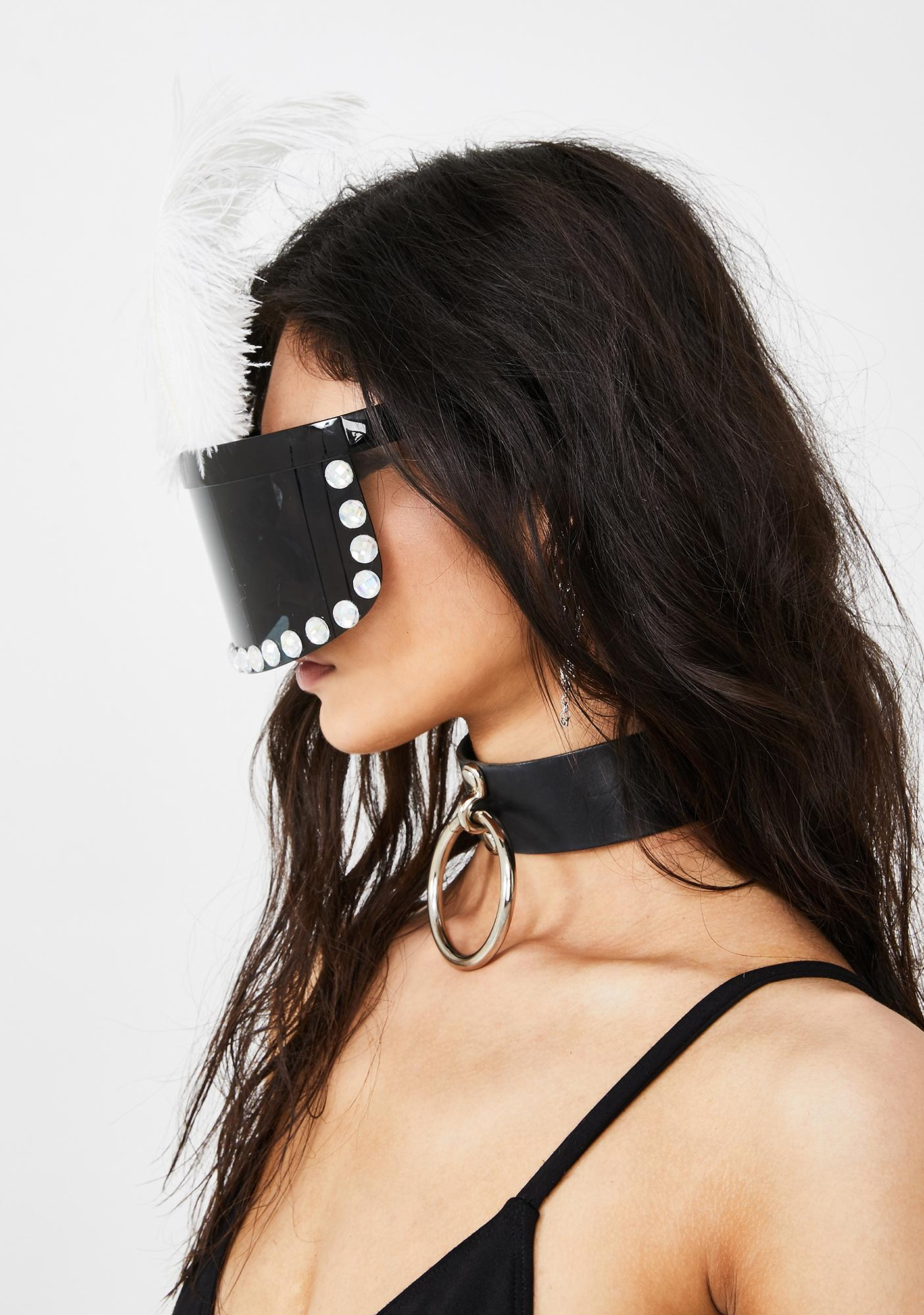 Surreal Cyborg Face Visor