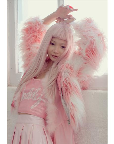 Faux Fur Phenomena Coat