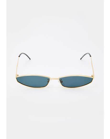 Luxe Dimension Tiny Sunglasses