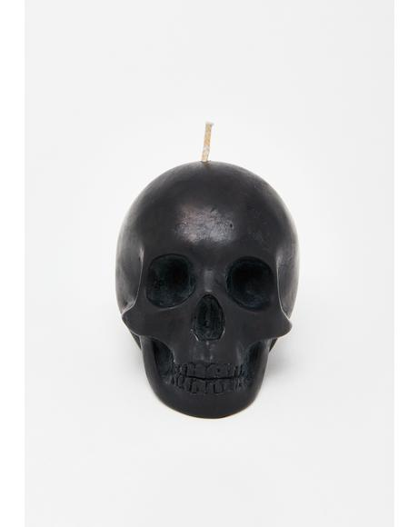 Skull Scented Soy Candle