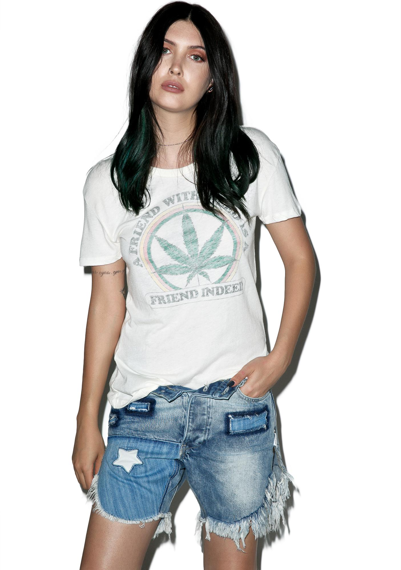 Friends With Weed Tee