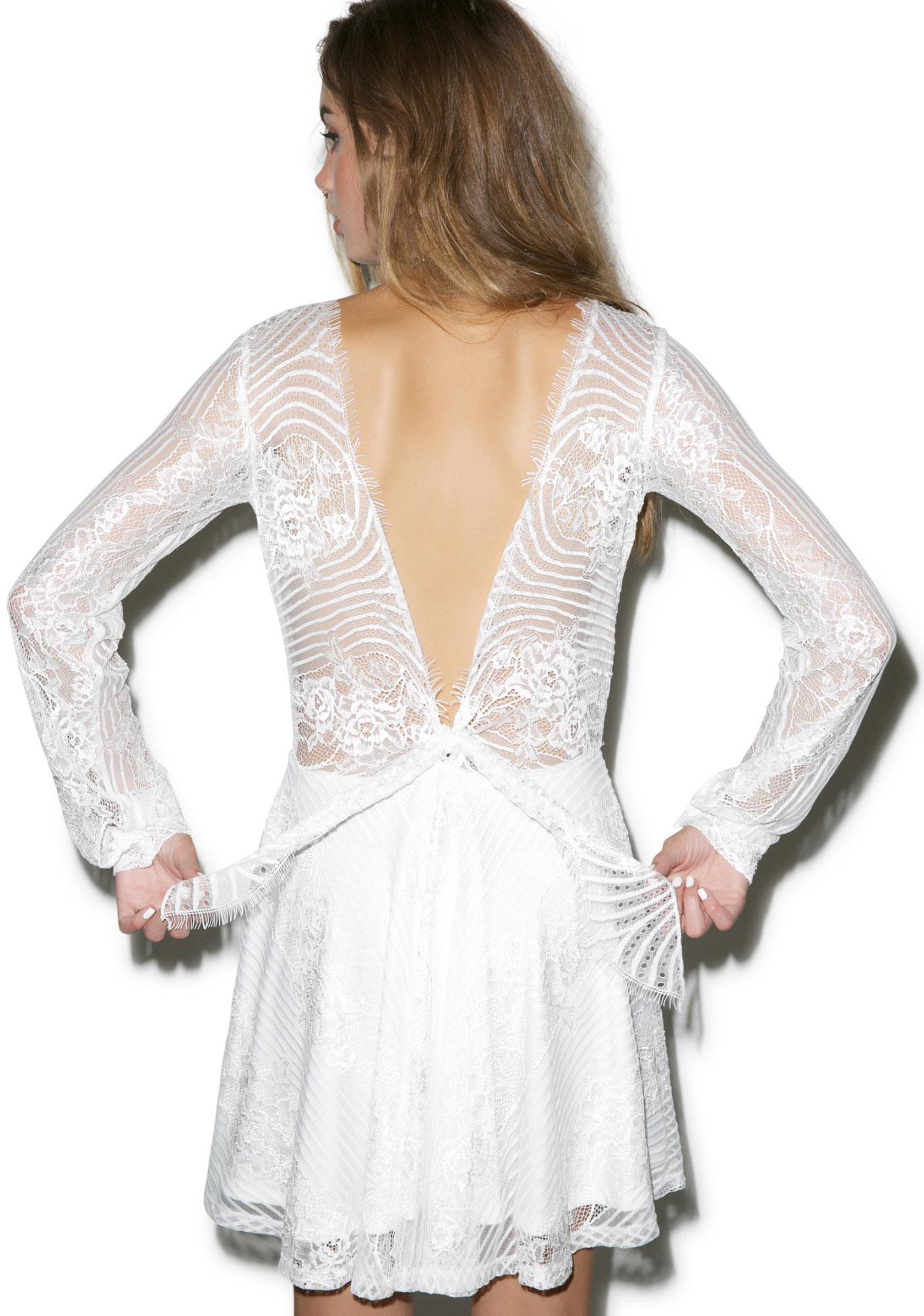 For Love & Lemons Lolo Lace Dress