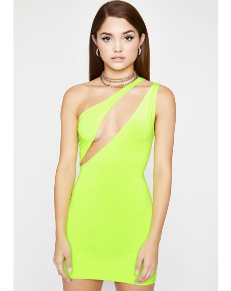 Major Vixen Cut Out Mini Dress