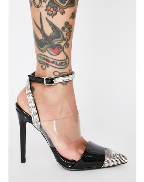 Jane Rhinestone Heels