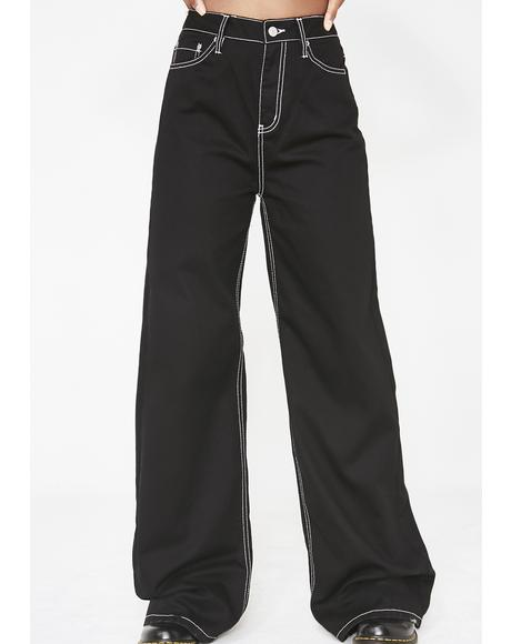 Midnight Skate Wide Leg Pants