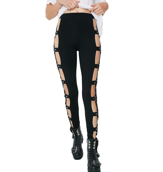 Current Mood Sick Revenge O-Ring Leggings