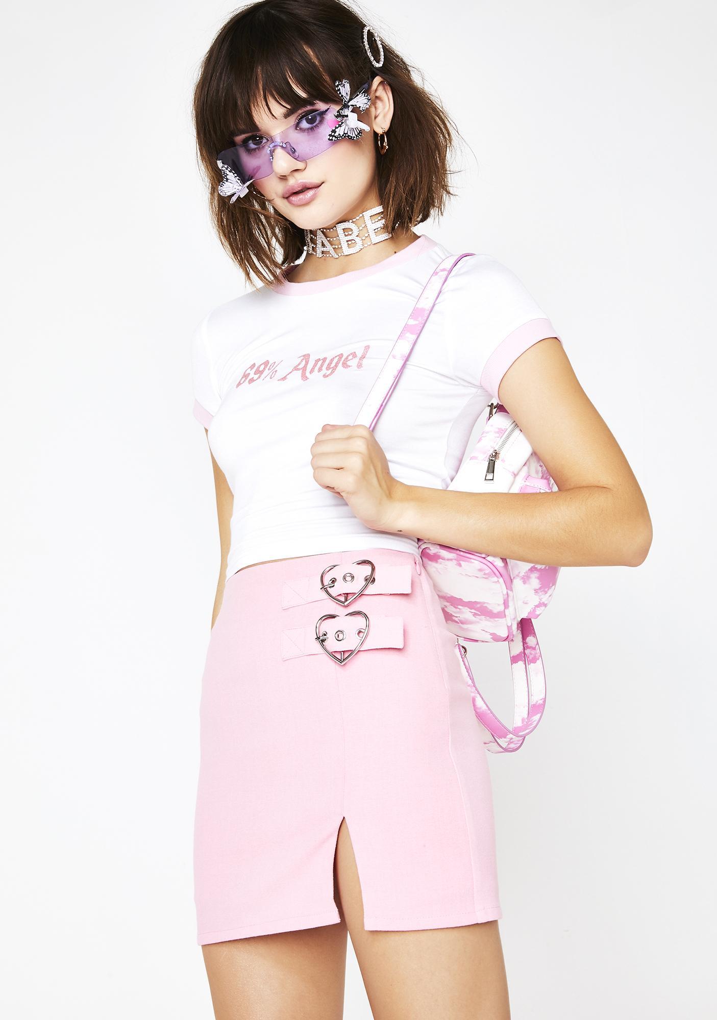 Sugar Thrillz Heart's Desire Mini Skirt