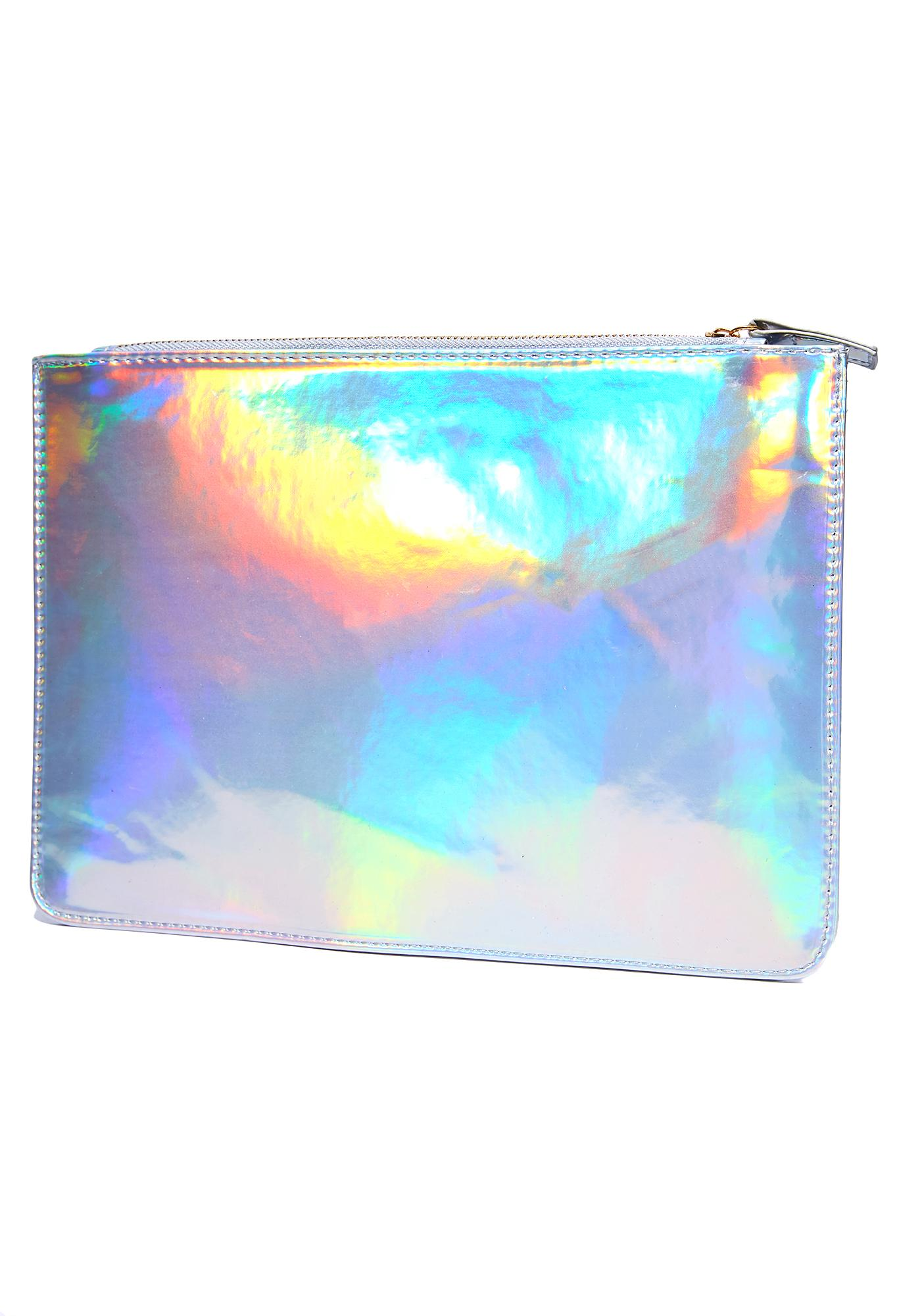 Asteroid Dynasty Holographic Clutch
