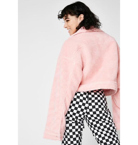 Somewhere Nowhere Sherpa Fleece Jacket