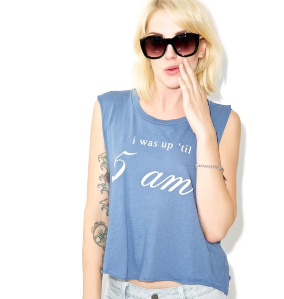 Wildfox Couture Warning Chad Tank