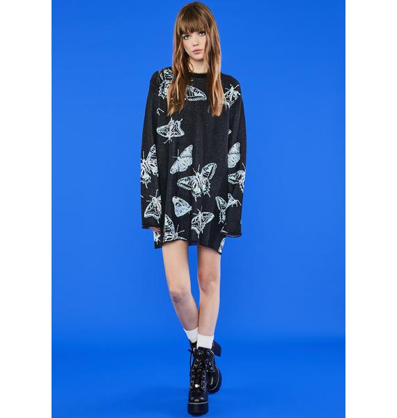 dELiA*s by Dolls Kill On The Fly Sweater Dress