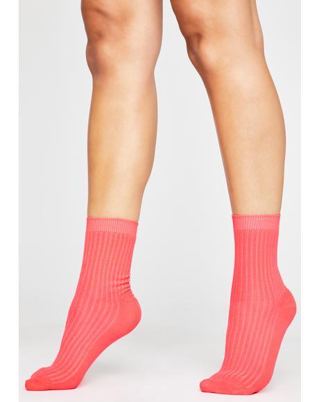 BB Stay Movin' Ribbed Socks