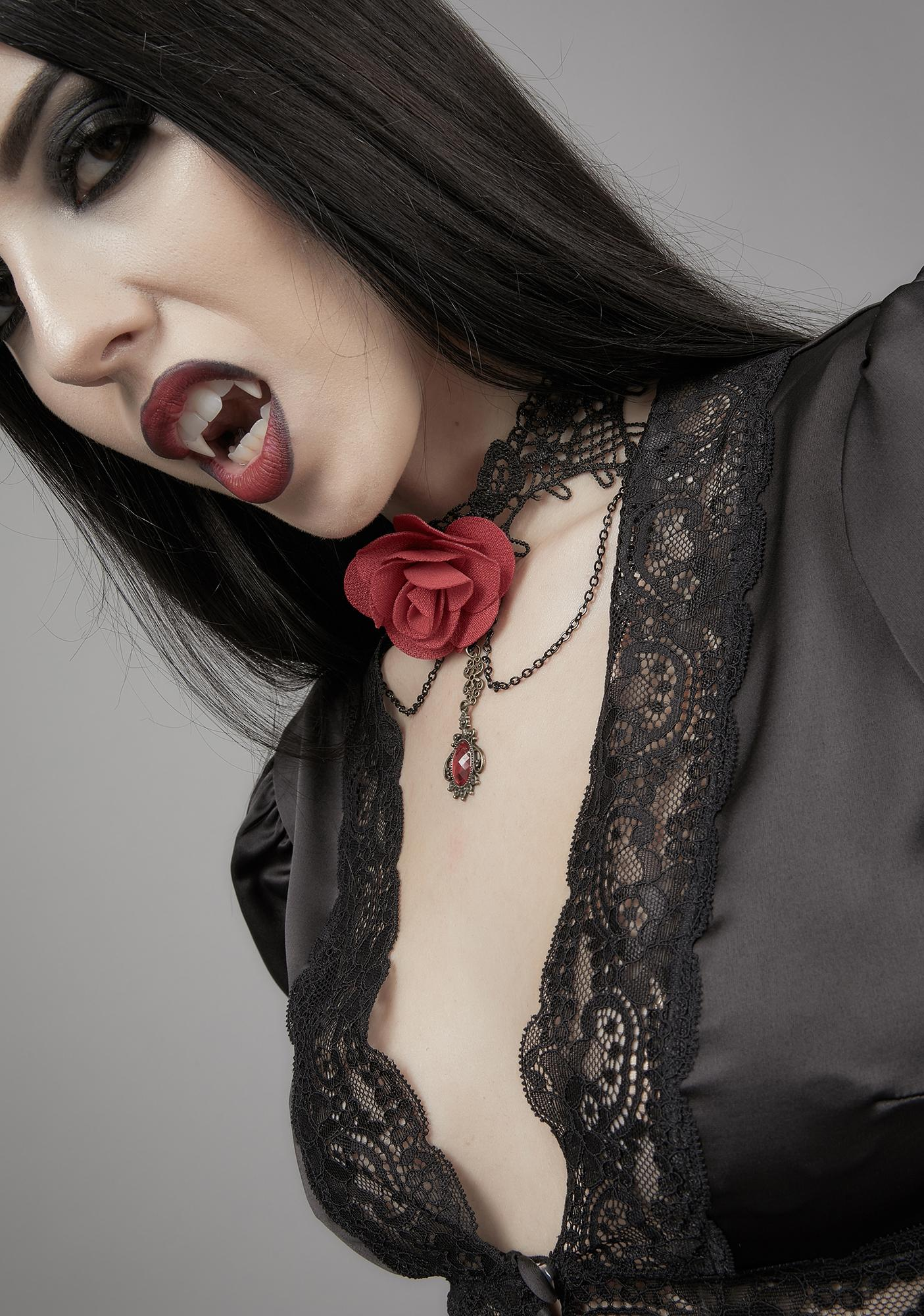 Bewitched Bouquet Gothic Choker