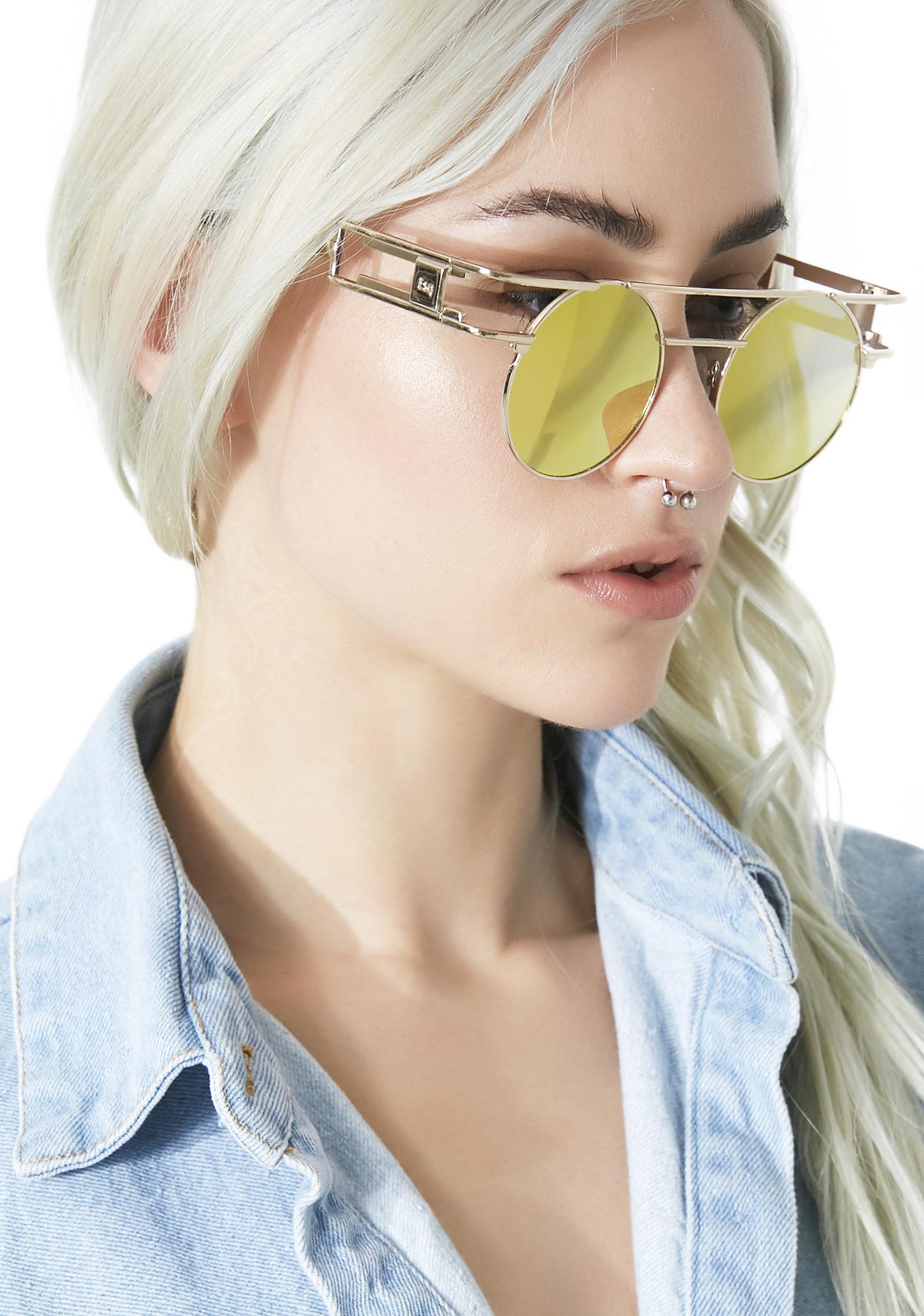 ESQAPE Golden Speqz Sunglasses