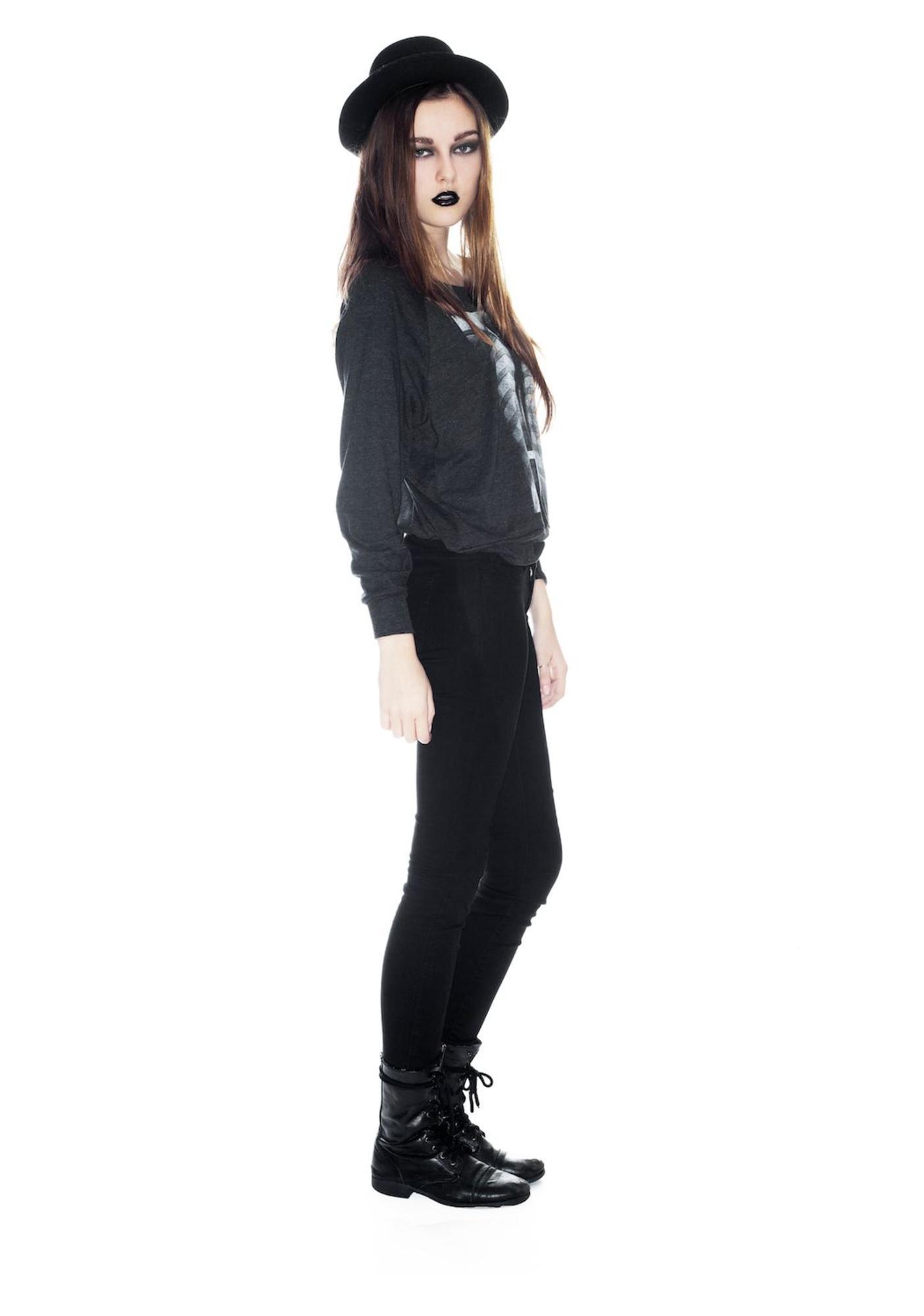 MeYouVersusLife I C RT THRU U Night Pullover