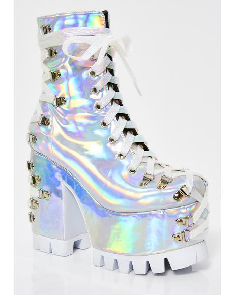Lucid Dreams Corset Boots