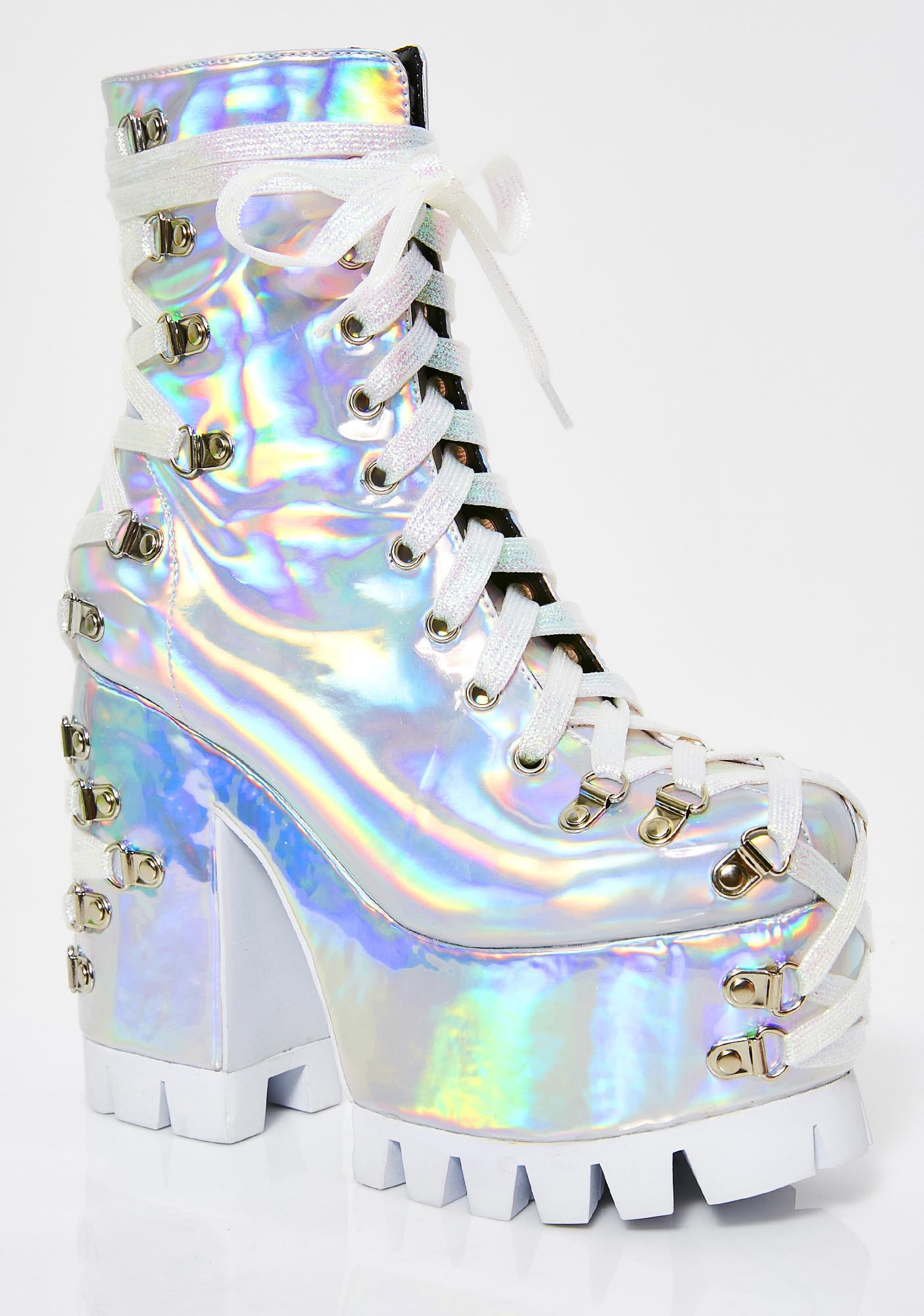 Club Exx Lucid Dreams Corset Boots