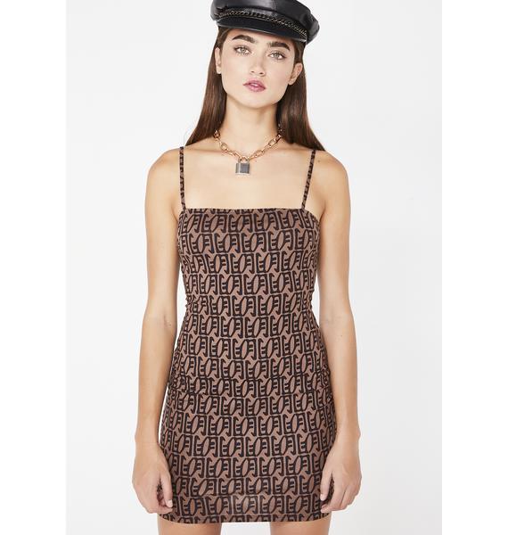 Motel Cognac Selah Dress