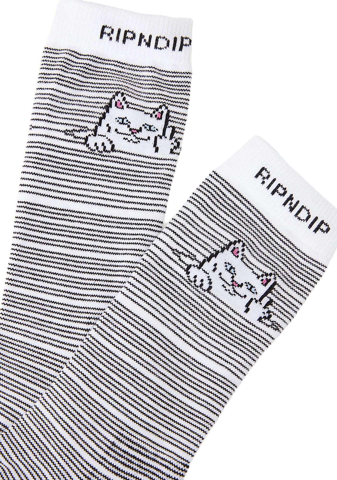 RIPNDIP Peeking Nermal Socks