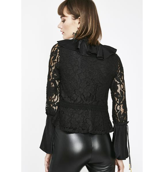 Queen Of Seduction Lace Top